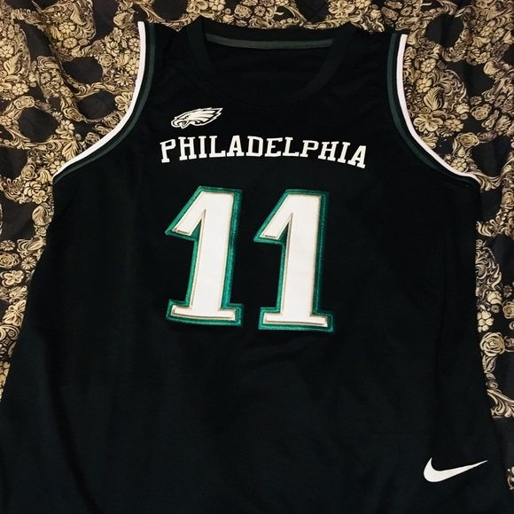 b6d7fe25bd3 Nike Shirts | Nfl Basketball Jersey Philadelphia Eagles | Poshmark